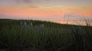 Cape Cod Landscape Prints - Cape Cod Bay Sunset Print by Bill  Wakeley