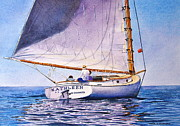 Karol Wyckoff - Cape Cod Catboat