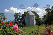 Jonathan Framed Prints - Cape Cod Jonathan Young Windmill Framed Print by Juergen Roth