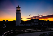New England Lighthouse Photo Posters - Cape Cod Light Poster by Bill  Wakeley