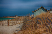 Sand Fences Acrylic Prints - Cape Cod Memories Acrylic Print by Jeff Folger