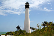 Cape Florida Lighthouse Metal Prints - Cape Forida Metal Print by Carey Chen