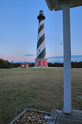 Hatteras Island Prints - Cape Hatteras Lighthouse IV Print by Steven Ainsworth