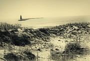 Seashore Mixed Media - Cape Henlopen Delaware Usa by Gerlinde Keating - Keating Associates Inc