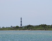 Nc Prints - Cape Lookout Lighthouse Print by Cathy Lindsey