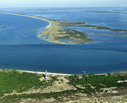 James Lewis - Cape Lookout Looking down Shakleford Banks