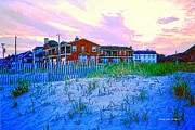 Cape May Nj Sunset Print by Annie Zeno