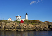Nubble Lighthouse Prints - Cape Neddick light Print by John Greim