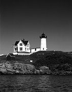 Cape Neddick Light Station Prints - Cape Neddick Light Station Print by Mountain Dreams
