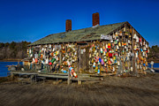 Shack Photos - Cape Neddick Lobster Pound by Susan Candelario