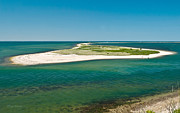 Wildlife Refuge Photos - Cape Poge From Chappaquiddick Island Marthas Vineyard Massachusetts by Michelle Wiarda