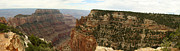 Walhalla Framed Prints - Cape Royal Panorama View Grand Canyon Framed Print by Christiane Schulze