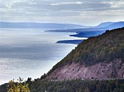 Cape Smokey Lookout Print by Janet Ashworth