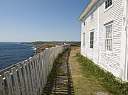 John Combe - Cape Spear Fence