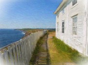 John Combe - Cape Spear Watercolor