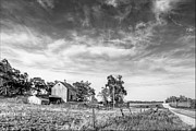 Old Country Roads Prints - Capehart Road Farm 1 Print by Nikolyn McDonald