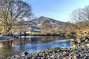 North Wales Photos - Capel Curig - North Wales by Rob Guiver