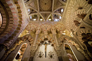 Religious Structure Prints - Capilla de Villaviciosa in the Great Mosque of Cordoba Print by Artur Bogacki
