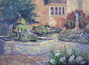 San Juan Paintings - Capistrano Morning by Linda  Wissler