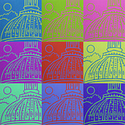 Grid Paintings - Capitol Colors - 1 by Joel Traylor