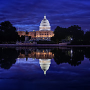 Capitol Art - Capitol Morning by Metro DC Photography