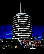 Beatles Digital Art Originals - Capitol Records by Kimberly Mack
