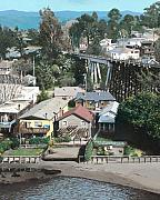 Santa Cruz Art - Capitola Trestle by James Robertson