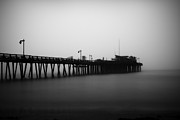 Santa Cruz Pier Prints - Capitola Wharf Print by Paul Topp