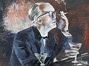 Kevin J Cooper Artwork - Capote by Hoffman
