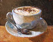 Espresso Paintings - Cappuccino Italiano by Christopher Clark