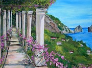 Teresa Dominici - Capri Terrace View