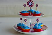 Farah Faizal - Captain America Cupcakes