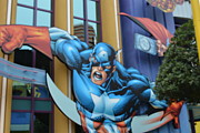 Comic. Marvel Photos - Captain America by Janice Spivey