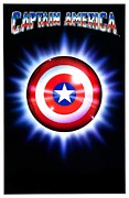 Movie Poster Prints - Captain America