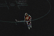 Nhl Prints - Captain Iginla 12 Print by Laura Bentley