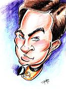 Captain Kirk Print by Big Mike Roate