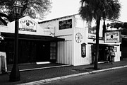 Captain America Photos - Captain Tonys Saloon Site Of The Original Sloppy Joes Bar Frequented By Ernest Hemingway Key West Fl by Joe Fox