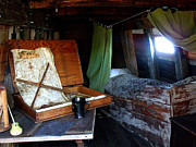 Marilyn Holkham Prints - Captains Quarters Aboard The Mayflower Print by Marilyn Holkham
