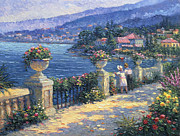 Lakeside Paintings - Captivating Charm by Ghambaro