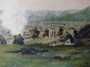 Joann Renner Art - Capturing the Flag-Picketts Charge by Joann Renner