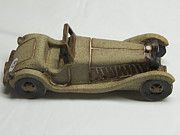 Cars Ceramics Originals - Car 02 by Val Camilleri