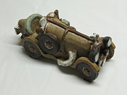 Cars Ceramics Originals - Car 05 by Val Camilleri