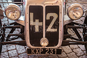 Racing Number Framed Prints - Car Number 42 Framed Print by Martin Bergsma