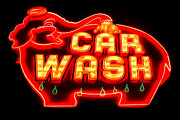 Brian Mollenkopf - Car Wash Neon Sign