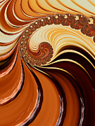 Yummy Digital Art - Caramel  by Heidi Smith