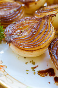 Onion Photos - Caramelized Balsamic Onions by Edward Fielding
