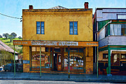 Historic Country Store Posters - Carcoar General Store Poster by Stuart Row