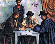 Card Players Prints - Card Player Print by Paul cezanne