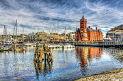 Steve Purnell - Cardiff Bay And The Pierhead Building