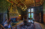 Dining Hall Photos - Cardiff Castle Apartment Dining Room by Yhun Suarez